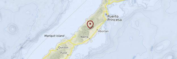 Carte Palawan - Philippines