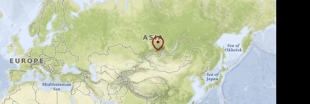 Carte Désert du Kyzyl-Koum - Ouzbékistan