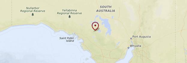 Carte South Australia (Australie-Méridionale) - Australie