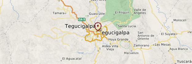 Carte Tegucigalpa - Honduras