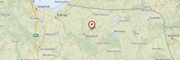 Carte Mazurie - Pologne