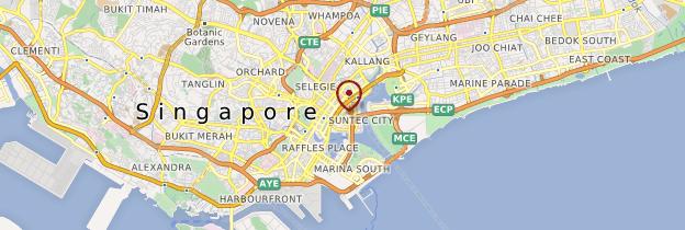 Carte Vieux quartier colonial - Singapour