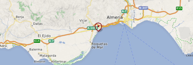 Carte Costa del Sol et arrière-pays - Andalousie
