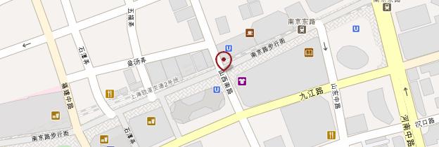 Carte Nanjing Donglu - Shanghai