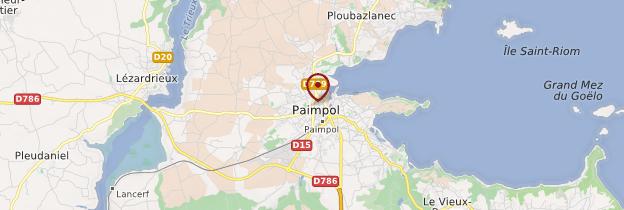 Carte Paimpol (Pempoull) - Bretagne