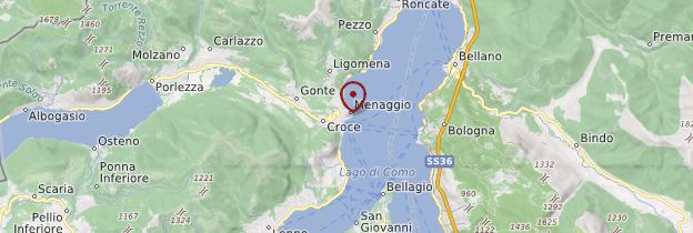 Carte Menaggio - Italie