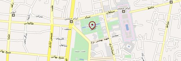 Carte Palais Ali Qapu - Iran