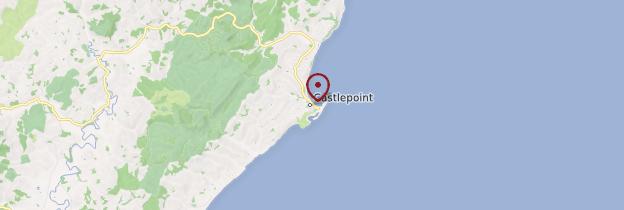 Carte Castlepoint - Nouvelle-Zélande