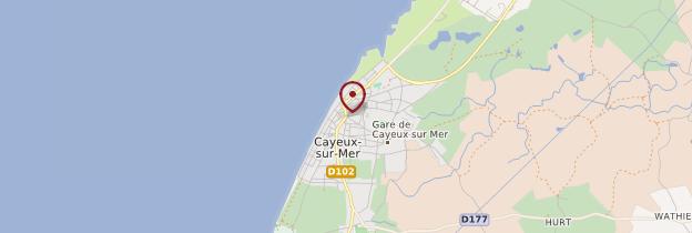 Carte Cayeux-sur-Mer - Picardie