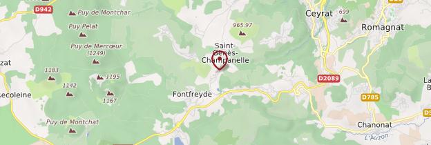 Carte Puy de Dôme - Auvergne
