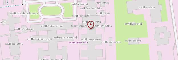 Carte Wat Phra Kaeo et le Grand Palais - Bangkok