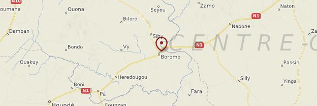 Carte Boromo - Burkina Faso