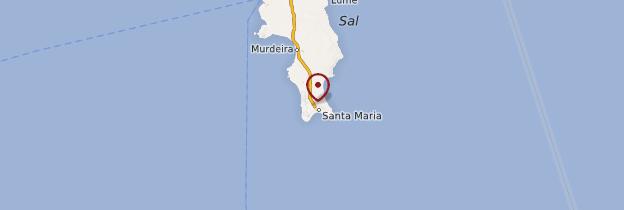 Carte Santa Maria - Cap-Vert