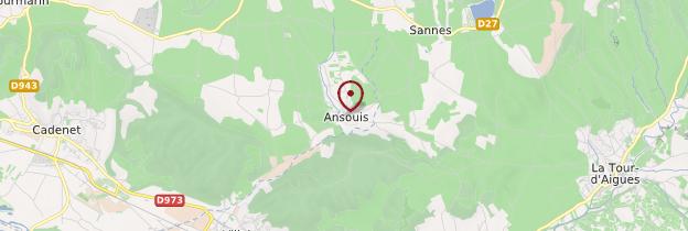 Carte Ansouis - Provence