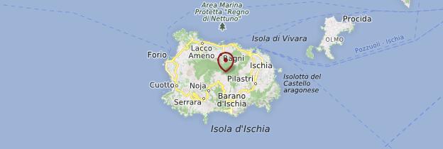 Carte Isola Ischia - Naples