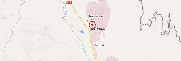Carte Tin Merzouga - Algérie