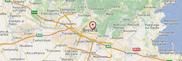 Carte Brescia - Italie