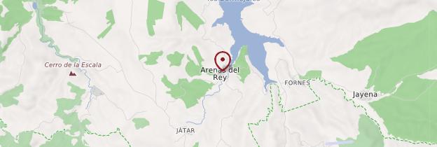 Carte Arenas - Andalousie