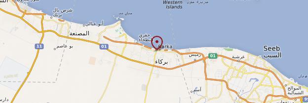 Carte Barka - Oman