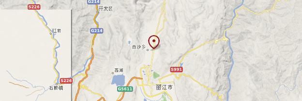 Carte Baisha - Chine