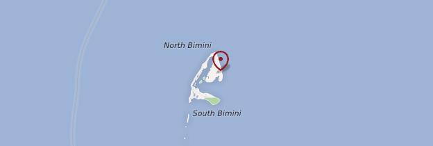 Carte Bimini - Bahamas