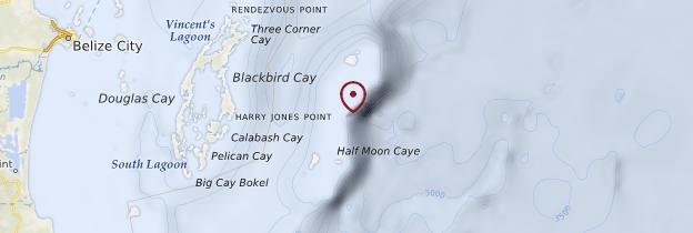 Carte Blue Hole - Belize