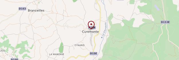 Carte Curemonte - Limousin