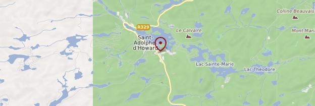 Carte Saint-Adolphe-d'Howard - Québec