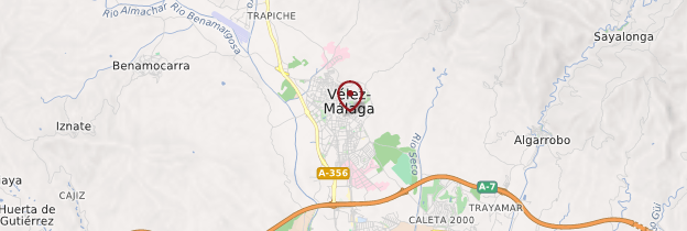 Carte Vélez-Málaga - Andalousie