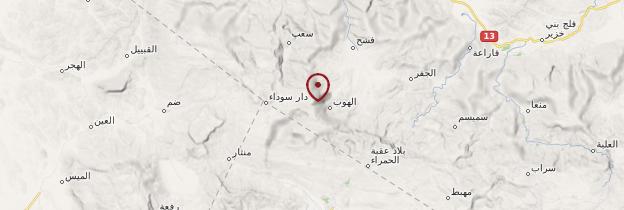 Carte Djebel Shams - Oman