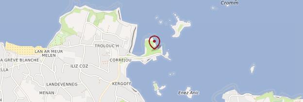 Carte Île Vierge - Bretagne