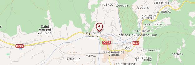 Carte Château de Beynac - Périgord - Dordogne