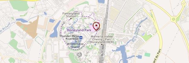 Carte Disneyland Paris - Île-de-France