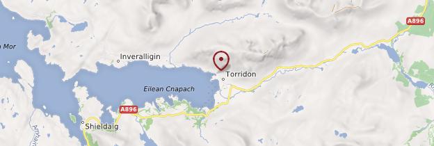 Carte Torridon - Écosse