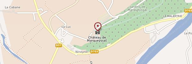 Carte Jardins suspendus de Marqueyssac - Périgord - Dordogne