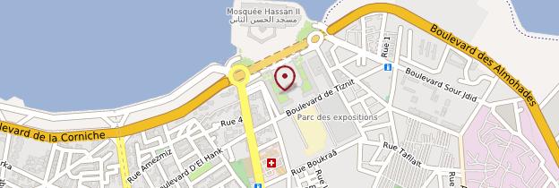 Carte Souk de Casablanca - Maroc