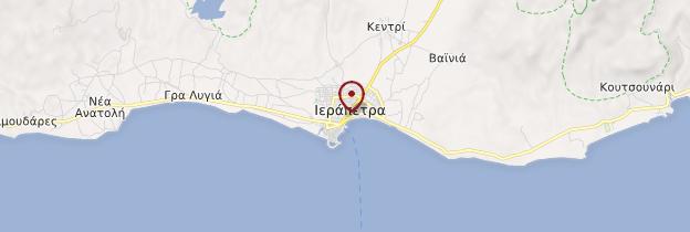 Carte Iérapétra - Crète