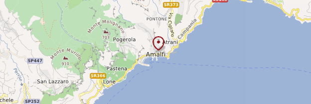 Carte Amalfi - Italie