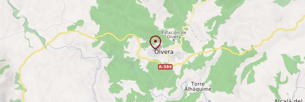 Carte Olvera - Andalousie