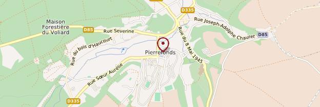 Carte Pierrefonds - Picardie