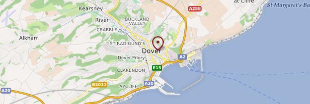 Carte Touristique Kent Angleterre.Douvres Dover Kent Guide Et Photos Angleterre Routard Com