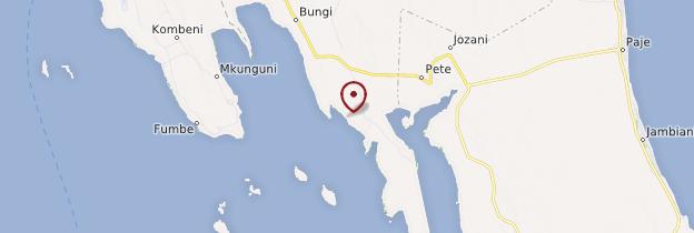 Carte Kae - Zanzibar