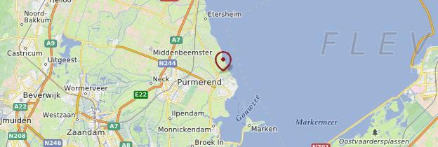 Carte Edam - Pays-Bas