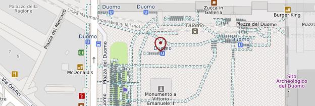 Carte Duomo  - Milan