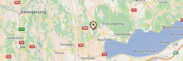 Carte Héviz - Hongrie