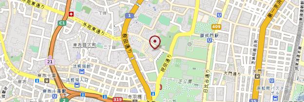 Carte Tour de Tokyo (Tokyo Tower) - Tokyo
