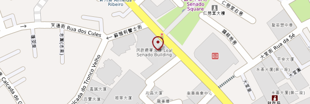 Carte Leal Senado (Sénat Loyal) - Macao