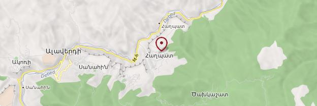 Carte Monastère de Haghpat - Arménie