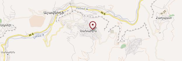 Carte Monastère de Sanahin - Arménie