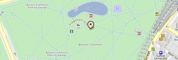 Carte Boston Common - Boston